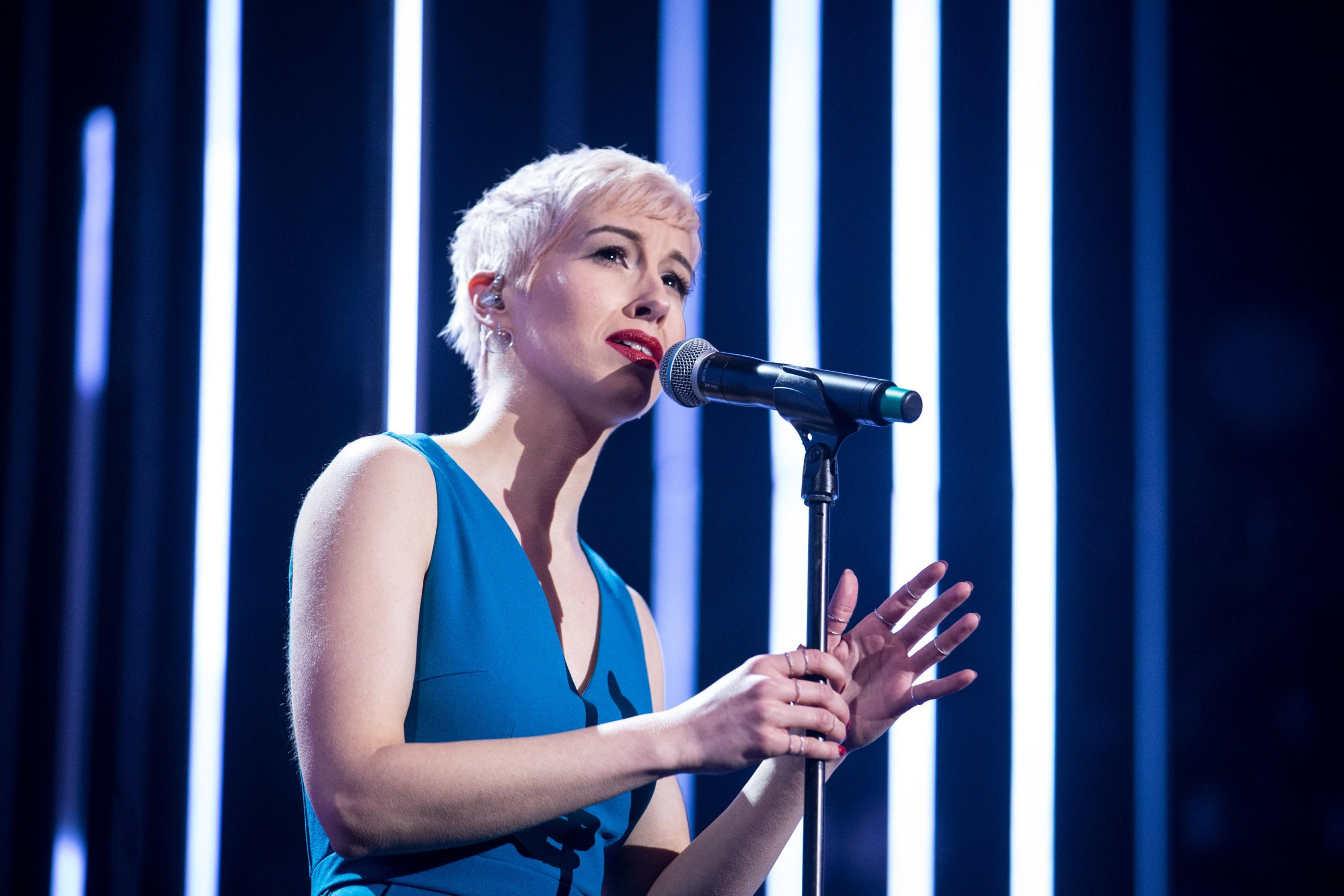 Seven things you need to know about UK's Eurovision entry SuRie (BBC/Guy Levy)