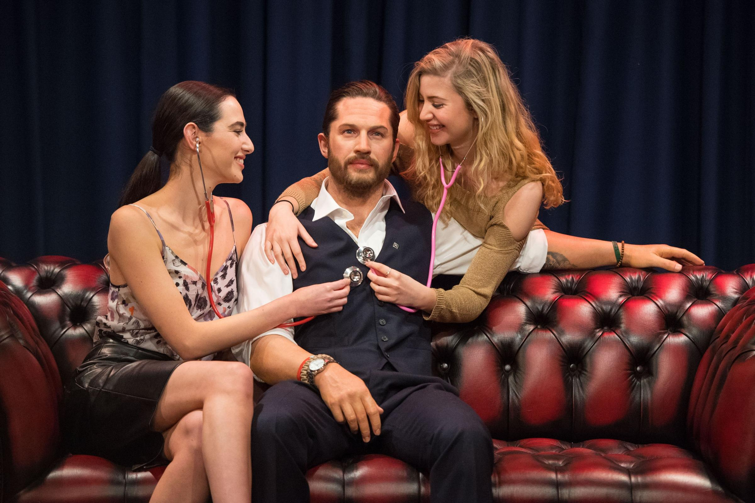 Tom Hardy waxwork unveiled at Madame Tussauds (Dominic Lipinski/PA)