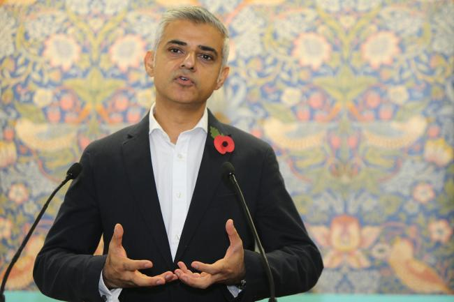 Sadiq Khan read out the abuse he receives online