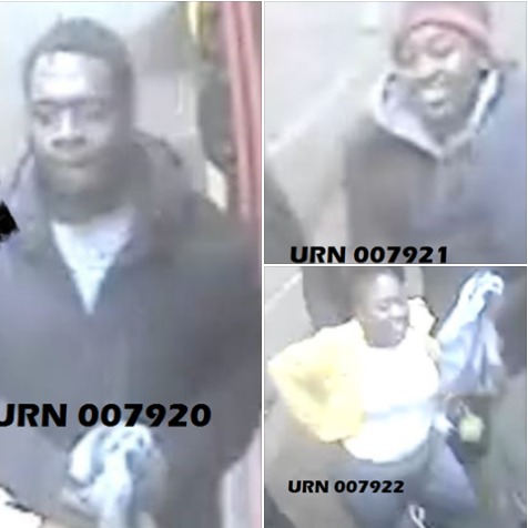 Police release photos of three suspects they want to speak to in connection with a racially aggravated assault at a tube station