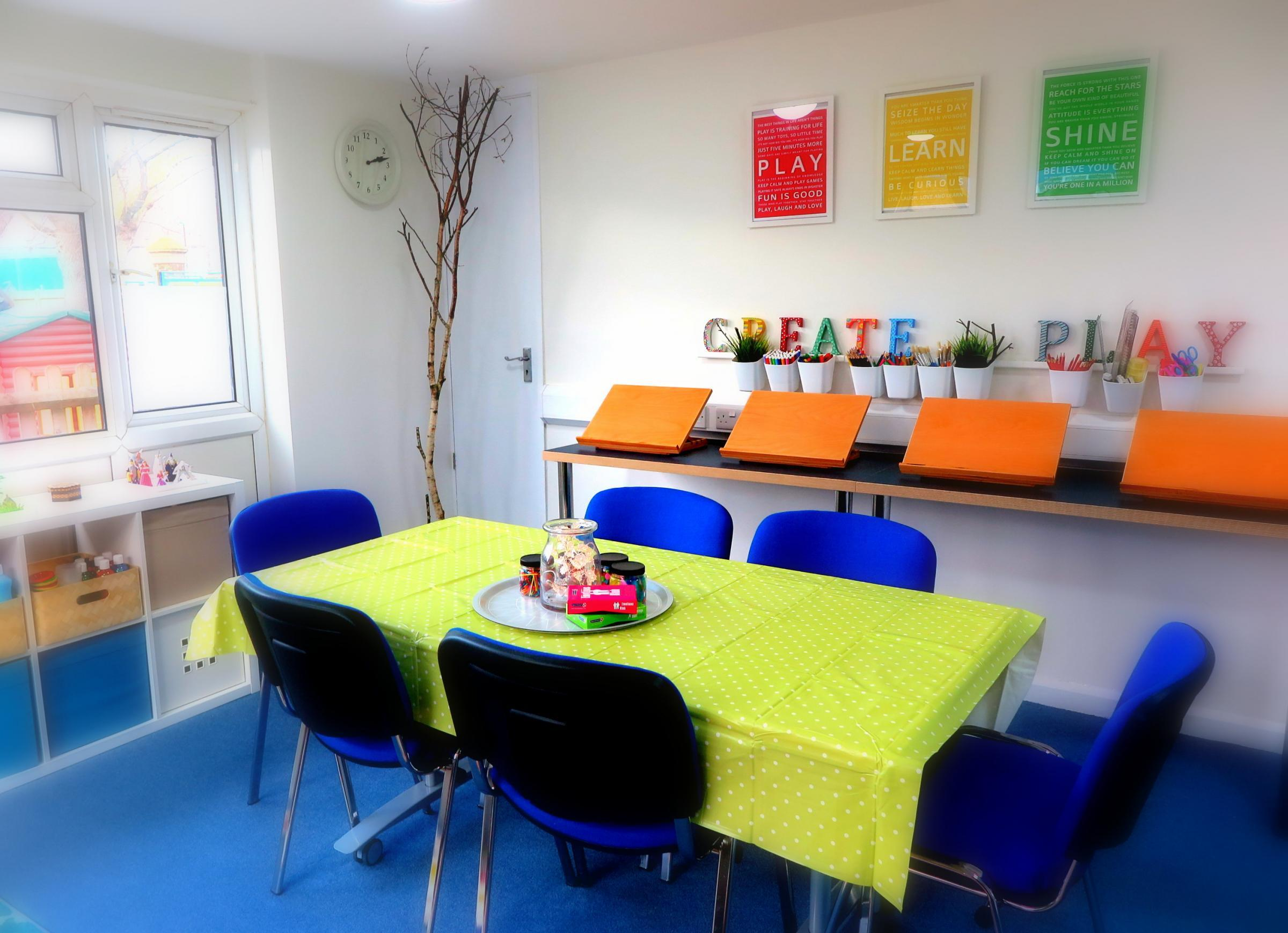 Play and Creative Arts Therapy Space launched at Cricket Green School