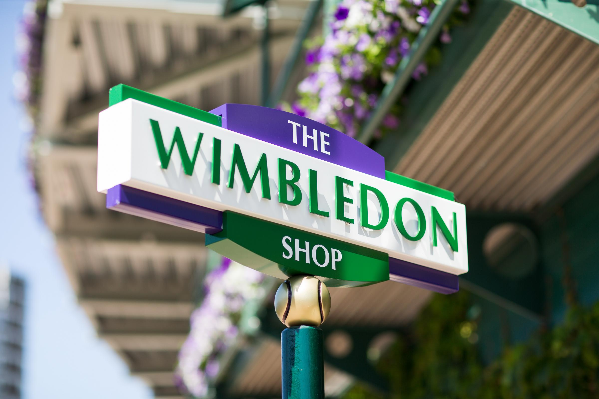 The All England Lawn Tennis Club opens up first pop-up shop in Wimbledon Village Credit: AELTC/Ben Queenborough.