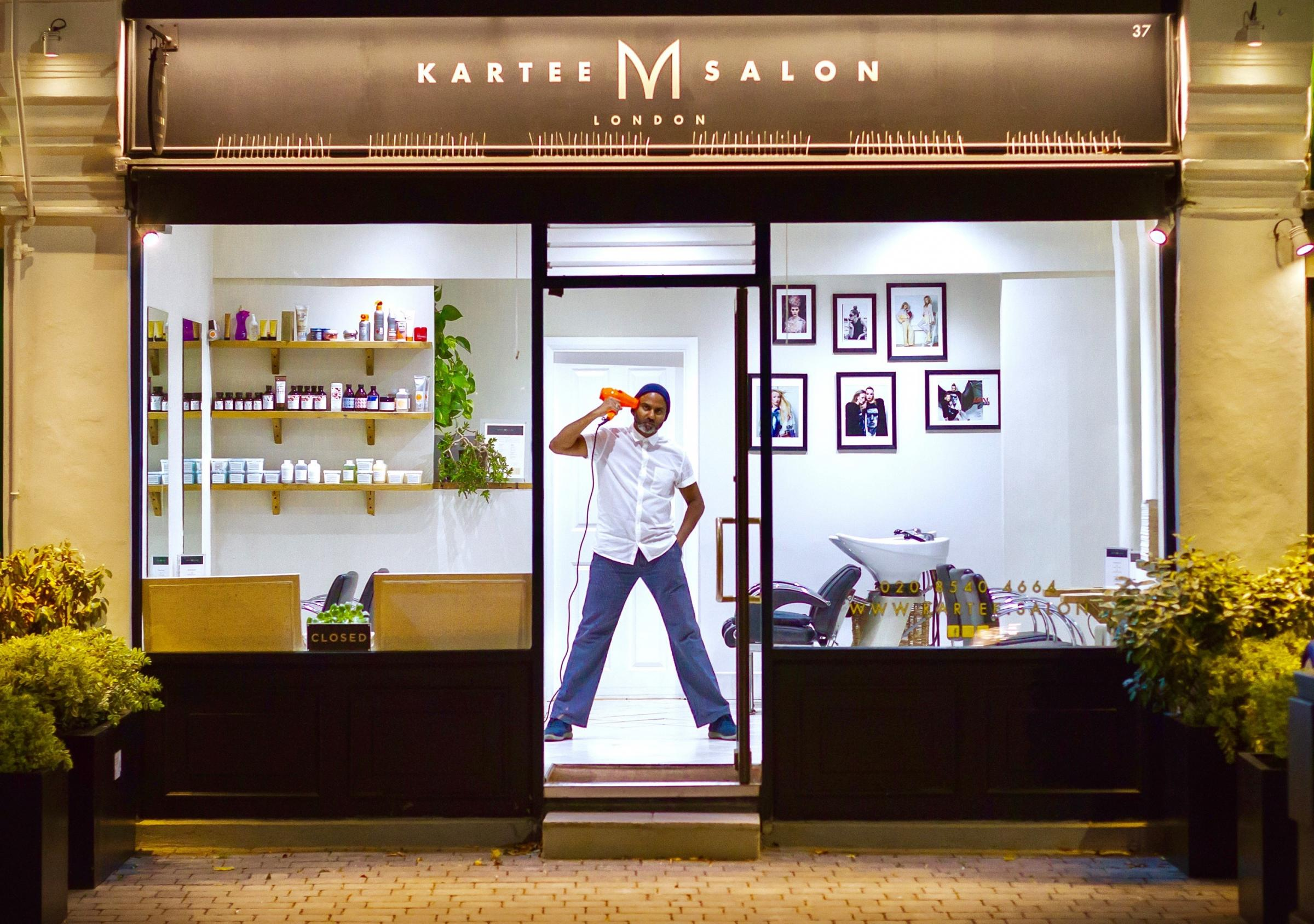 Colliers Wood salon, Kartee M Salon, has reason to celebrate
