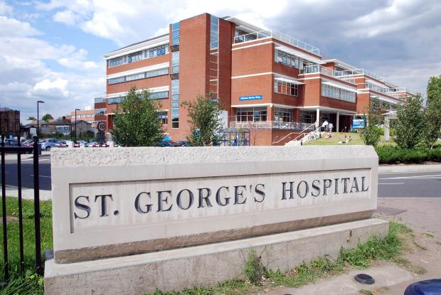 Wimbledon Guardian: St George's Hospital in Tooting