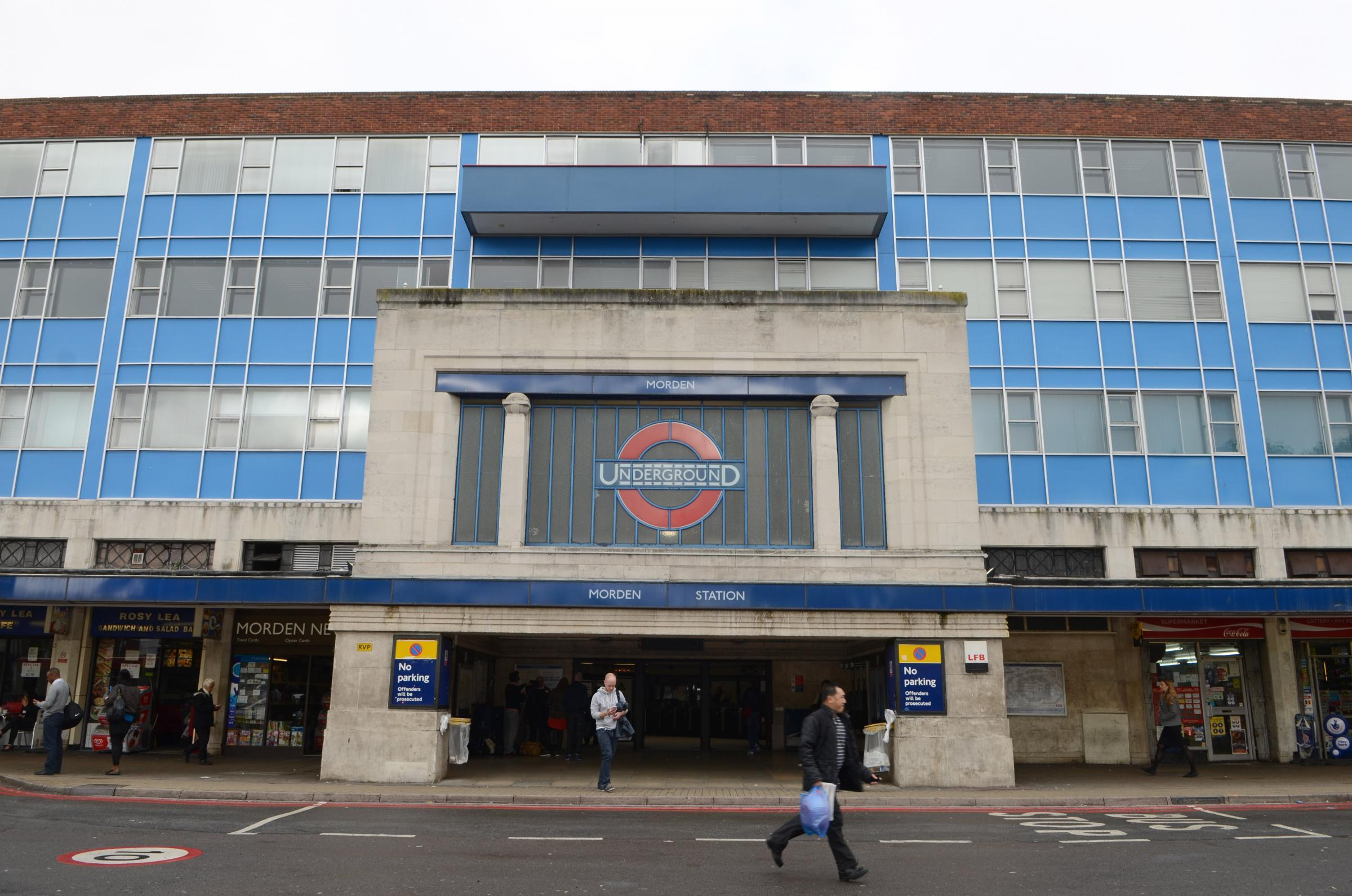 Inquiries underway after man attacked at Morden station