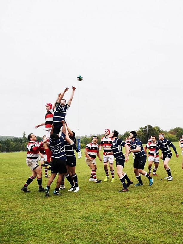 Old Glynonians with huge scalp on season opener