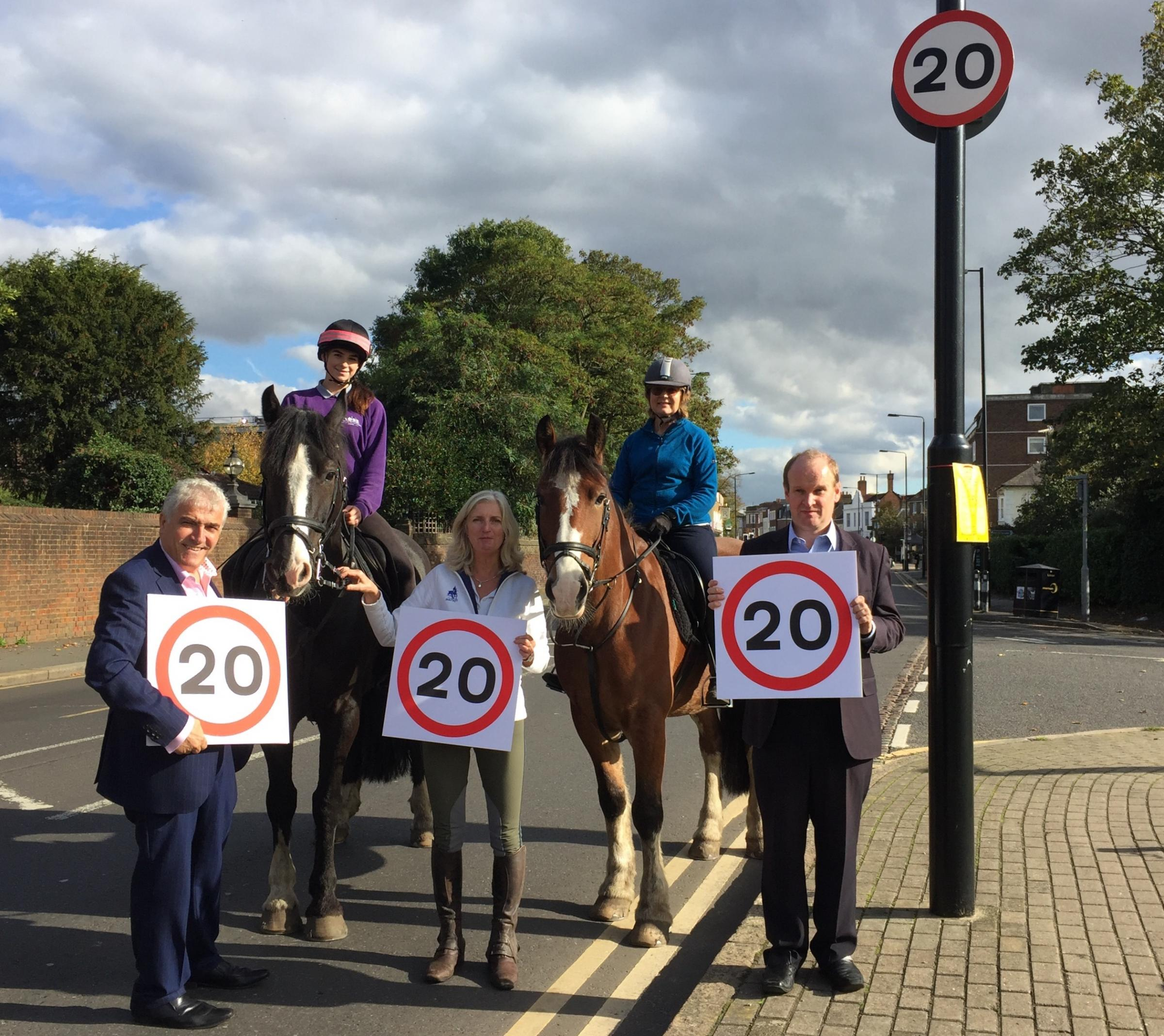 Busy high street becomes 20 miles per hour zone