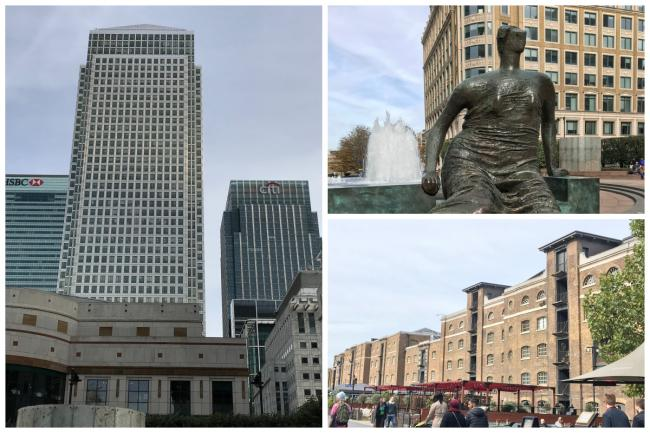 Looking around Canary Wharf - it's not all about the business