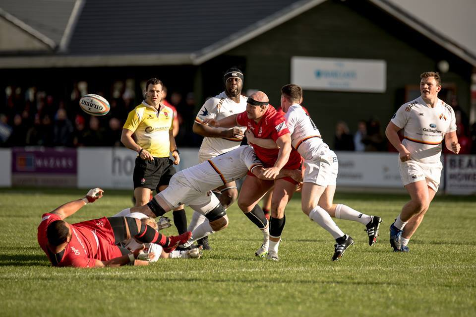 Richmond rue missed opportunites at Jersey (pic:Jersey Rugby Club)