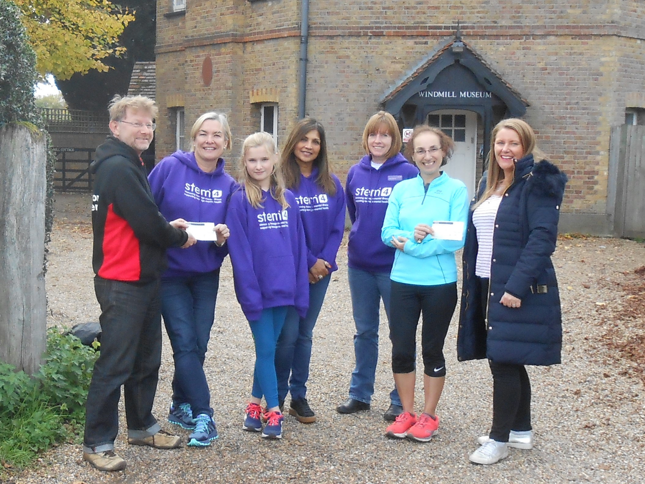 Runners raise money from charity
