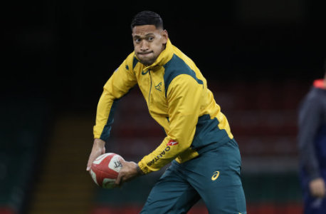 Folau a doubt for England clash (Simon Galloway/PA Wire/PA Images)
