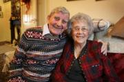 HAPPY COUPLE: Leslie and Mavis Burn, who met when they worked at the the Easington Village branch of the Murton Co-operative have celebrated their diamond wedding anniversary Picture: GAVIN ENGELBRECHT