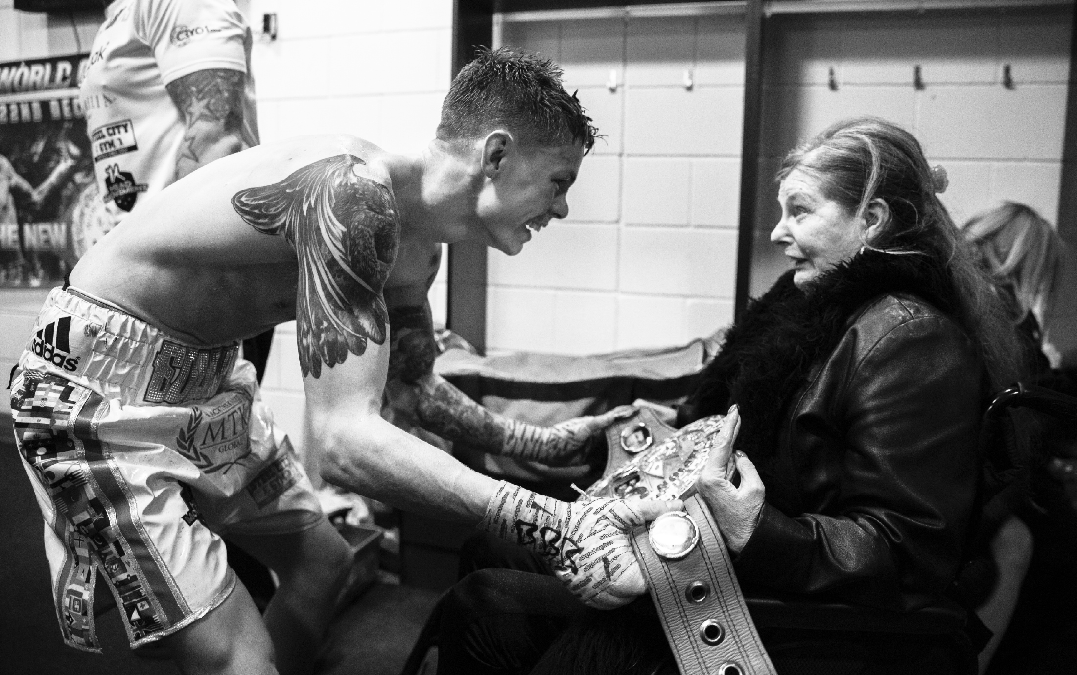 Mark Robinson/Matchroom Backstage Photography