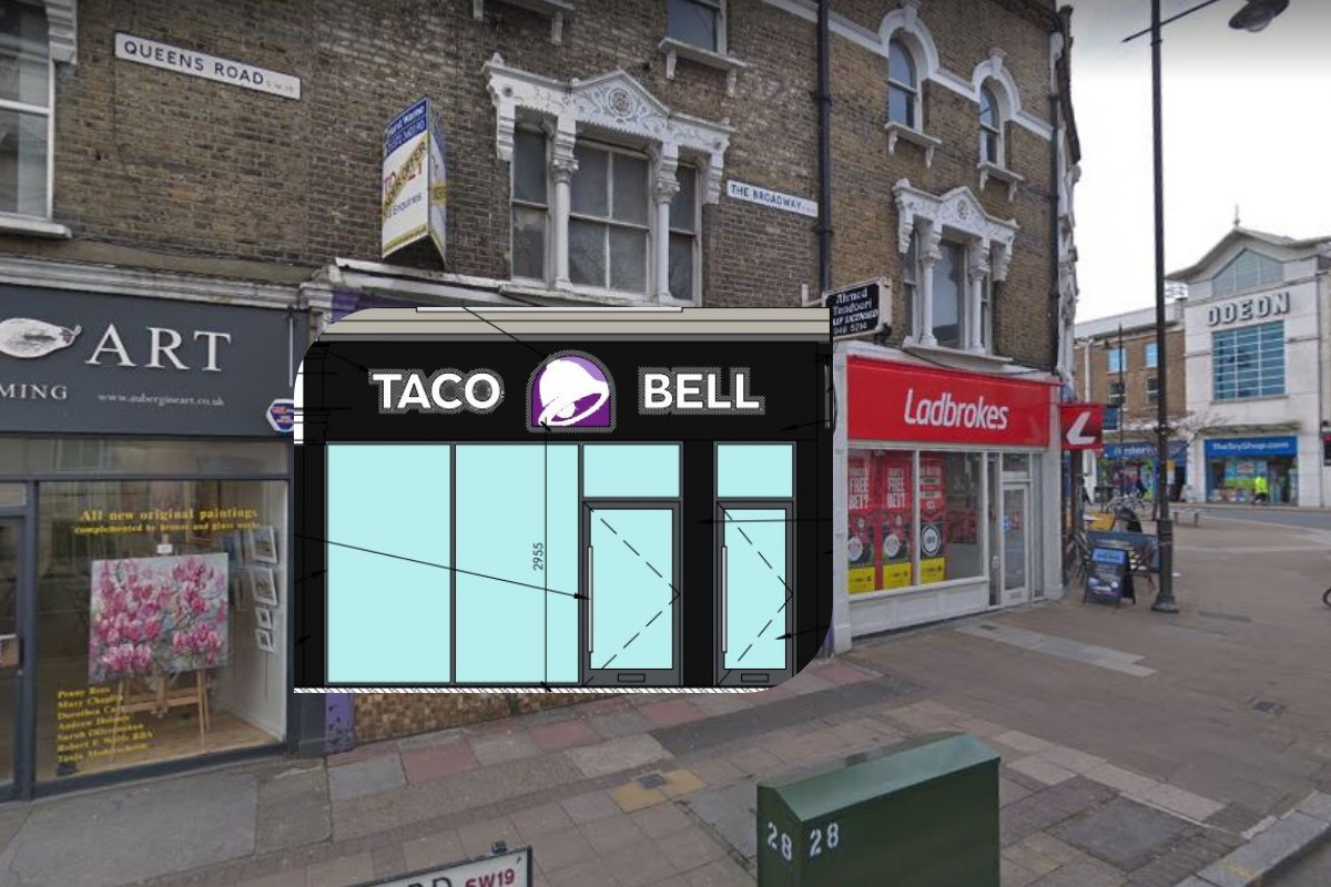 Where the new Taco Bell will open