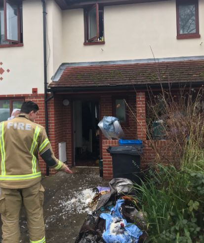 Firefighters urge people not to overload sockets after Morden house fire