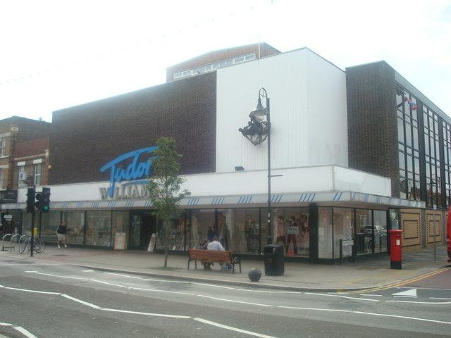 Tudor Williams department store in New Malden © Copyright Stacey Harris, Creative Commons Licence
