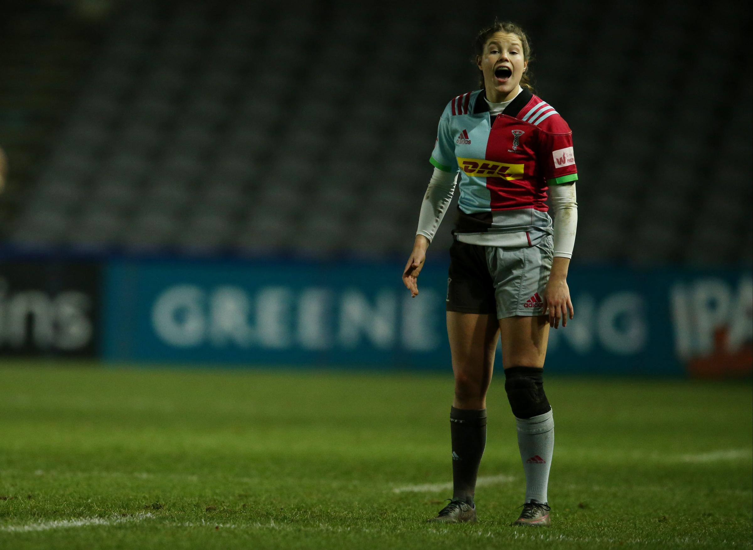 Harlequins Ladies' Jess Breach  (Photo credit: Paul Harding/PA Wire)