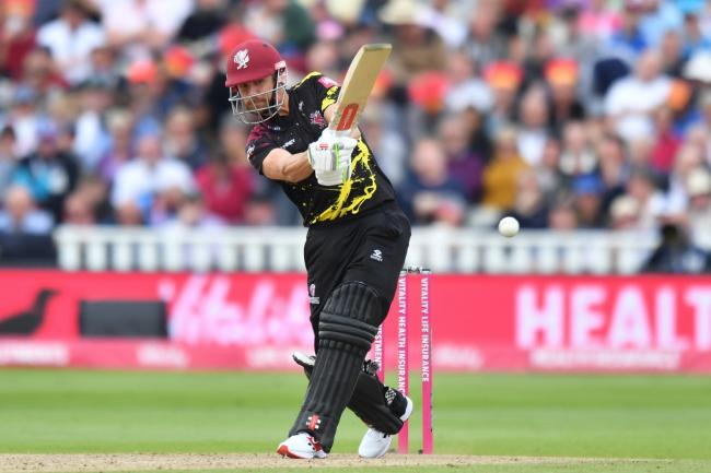 James Hildreth reached a club milestone for Somerset