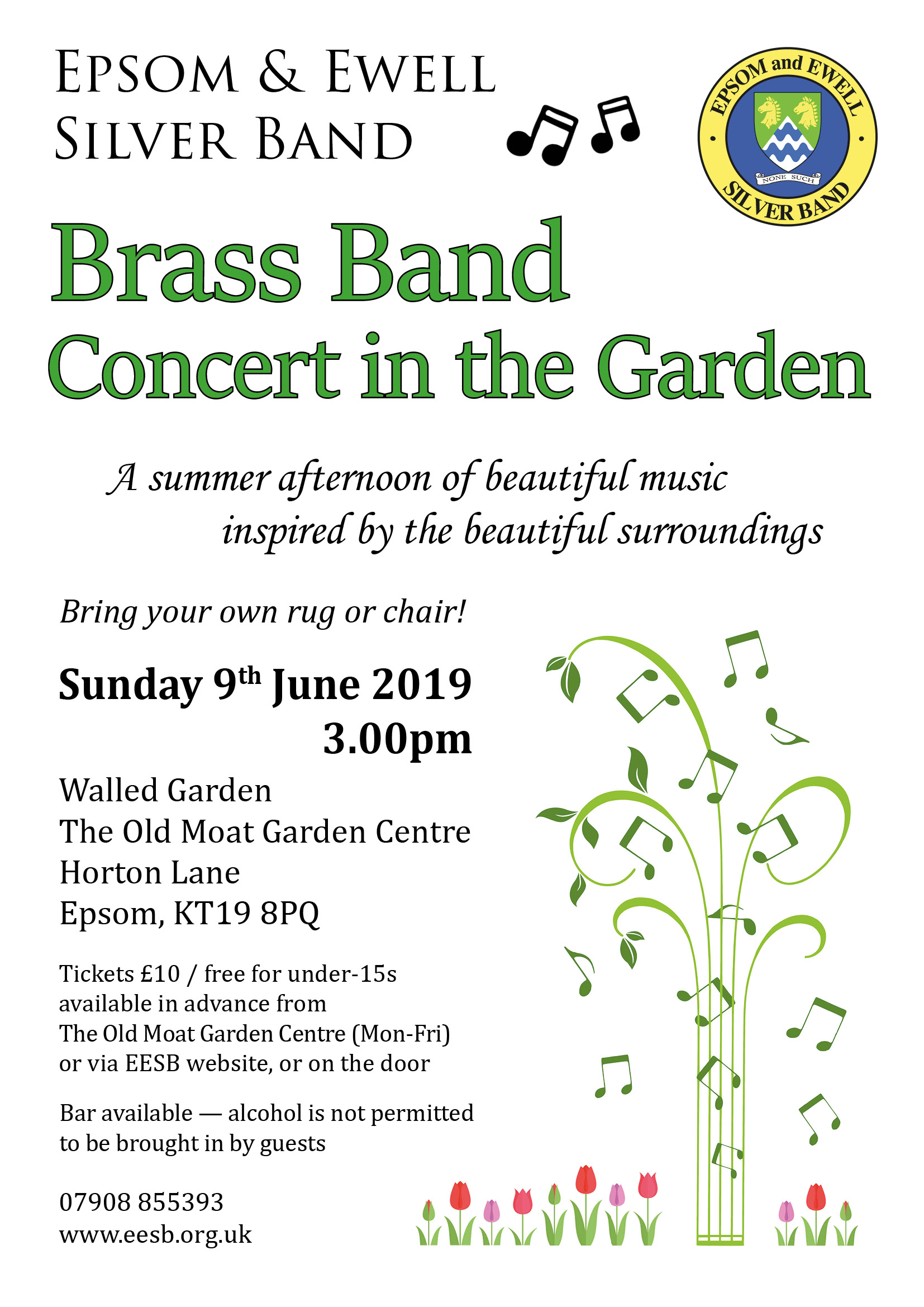 Epsom & Ewell Brass Band Summer Concert